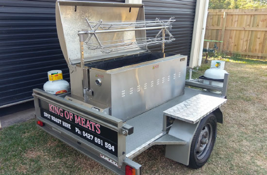 Spit Trailer Hire